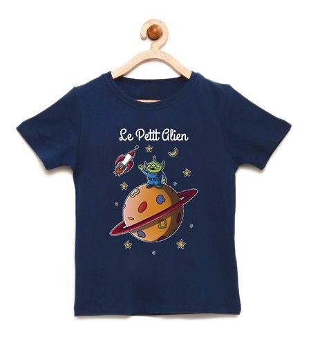 Camiseta Infantil Alien - Loja Nerd e Geek - Presentes Criativos