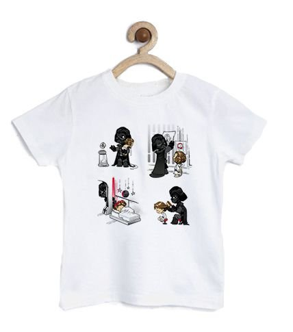 Camiseta Infantil Dark Daddy - Loja Nerd e Geek - Presentes Criativos
