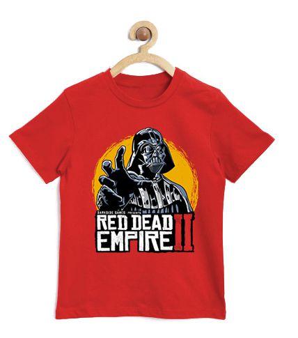 Camiseta Infantil Galactic Evil King - Loja Nerd e Geek - Presentes Criativos