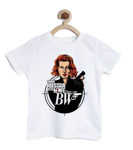 Camiseta Infantil Russa - Loja Nerd e Geek - Presentes Criativos