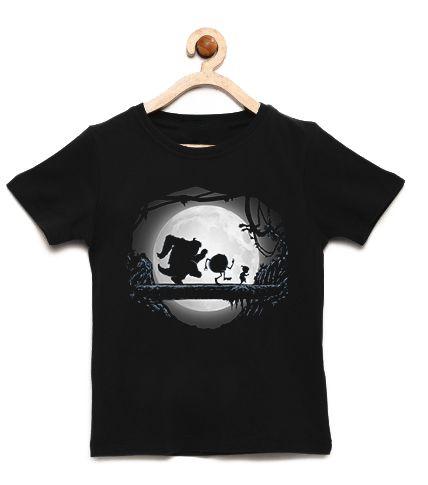 Camiseta Infantil Os Monstros - Loja Nerd e Geek - Presentes Criativos