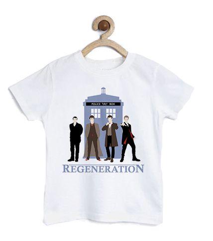 Camiseta Infantil O Doutor - Loja Nerd e Geek - Presentes Criativos