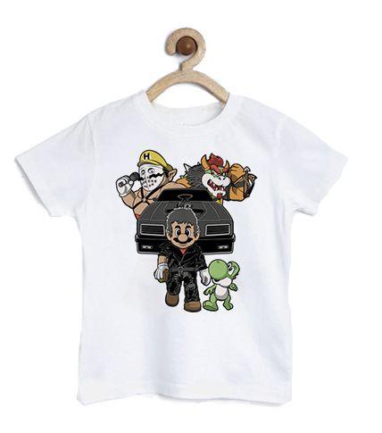 Camiseta Infantil Plumber and Dinosaur - Loja Nerd e Geek - Presentes Criativos