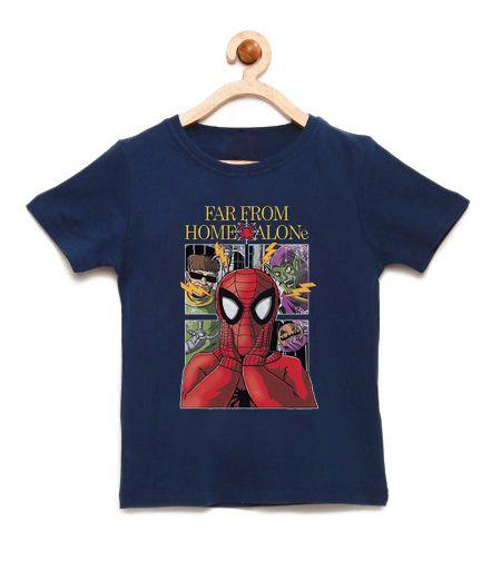 Camiseta Infantil Home Alone - Loja Nerd e Geek - Presentes Criativos