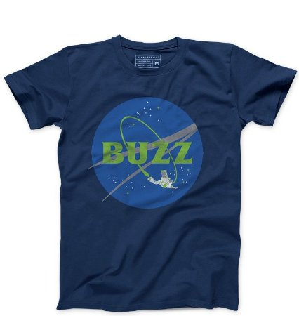 Camiseta Masculina Buzz - Loja Nerd e Geek - Presentes Criativos