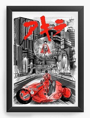 Quadro Decorativo A3 (45X33) Geekz Akira - Loja Nerd e Geek - Presentes Criativos