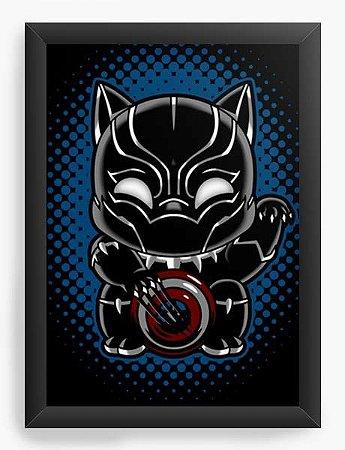 Quadro Decorativo A3 (45X33) Geekz Cat - Loja Nerd e Geek - Presentes Criativos