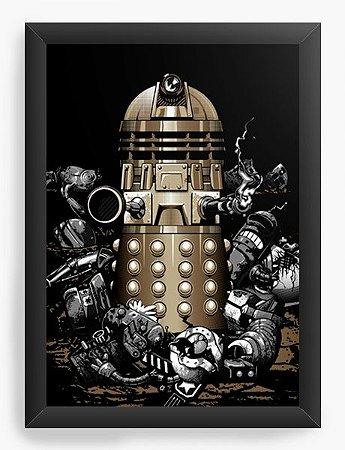 Quadro Decorativo A3 (45X33) Geekz Doctor Who - Loja Nerd e Geek - Presentes Criativos