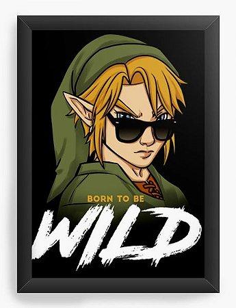 Quadro Decorativo A3 (45X33) Geekz Elf Wild - Loja Nerd e Geek - Presentes Criativos