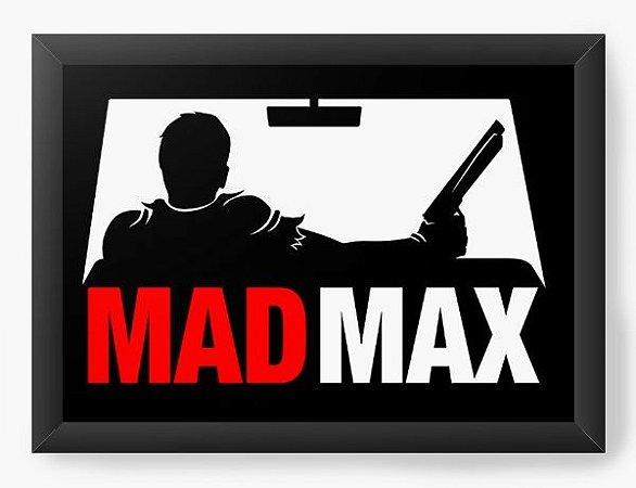 Quadro Decorativo A3 (45X33) Geekz Mad Max - Loja Nerd e Geek - Presentes Criativos