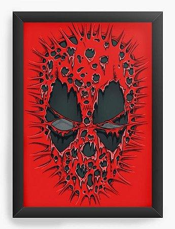 Quadro Decorativo A3 (45X33) Red ombie - Loja Nerd e Geek - Presentes Criativos