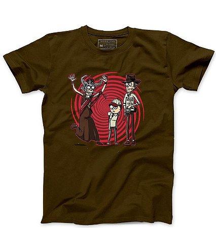 Camiseta Masculina Universo Paralelo - Loja Nerd e Geek - Presentes Criativos