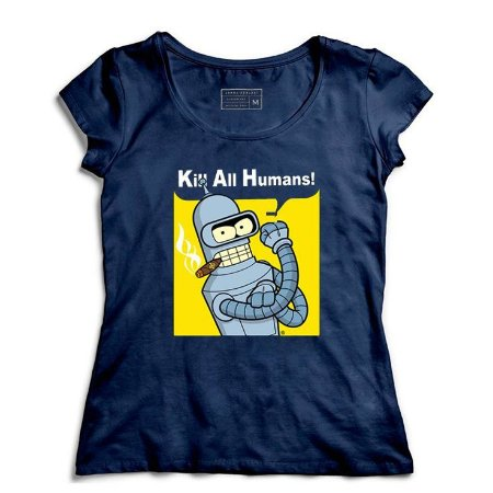Camiseta Feminina Futurama - Loja Nerd e Geek - Presentes Criativos