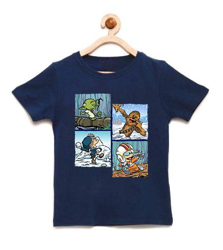 Camiseta Infantil Space Wars Photo - Loja Nerd e Geek - Presentes Criativos