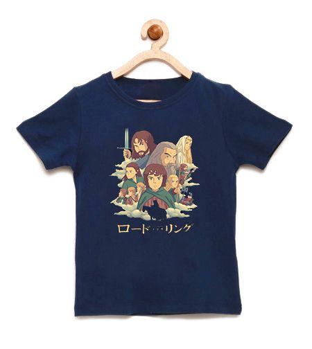 Camiseta Infantil Lords - Loja Nerd e Geek - Presentes Criativos