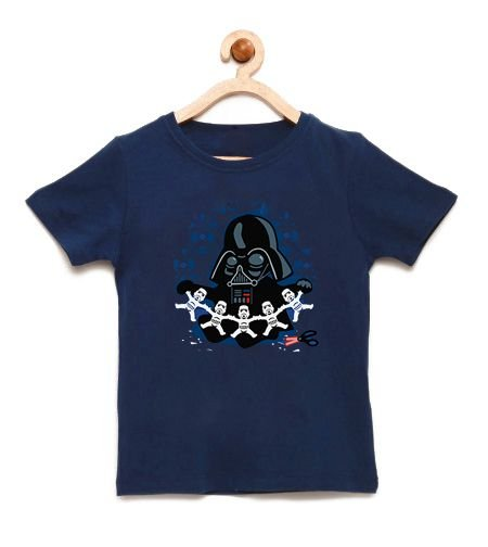 Camiseta Infantil Paper Dark - Loja Nerd e Geek - Presentes Criativos