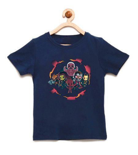 Camiseta Infantil Galaxi  - Loja Nerd e Geek - Presentes Criativos