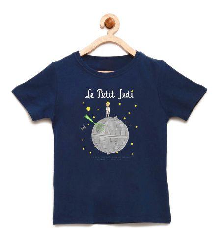 Camiseta Infantil Space Wars la Petiti - Loja Nerd e Geek - Presentes Criativos