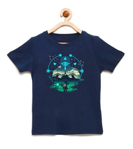 Camiseta Infantil Legend of Elf Wild - Loja Nerd e Geek - Presentes Criativos