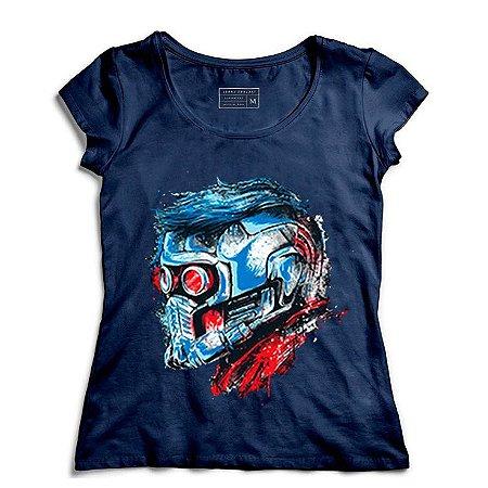 Camiseta Feminina Guardian Star Lord - Loja Nerd e Geek - Presentes Criativos