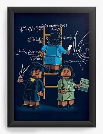 Quadro Decorativo A4 (33X24) Lego - Loja Nerd e Geek - Presentes Criativos
