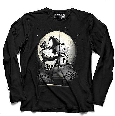 Camiseta Manga Longa O Bruxinho - Loja Nerd e Geek - Presentes Criativos