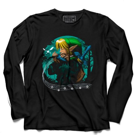 Camiseta Manga Longa Elf Florest - Loja Nerd e Geek - Presentes Criativos