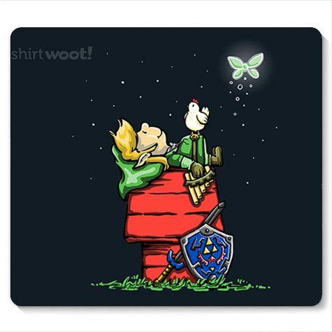 Mouse Pad Legend of Elf - Loja Nerd e Geek - Presentes Criativos