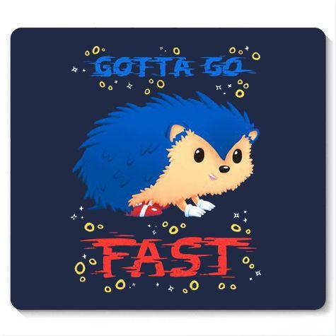 Mouse Pad Fast - Loja Nerd e Geek - Presentes Criativos