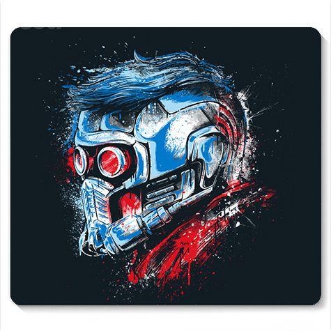 Mouse Pad Guardian Star Lord - Loja Nerd e Geek - Presentes Criativos