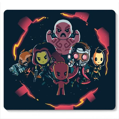 Mouse Pad Galaxi - Loja Nerd e Geek - Presentes Criativos
