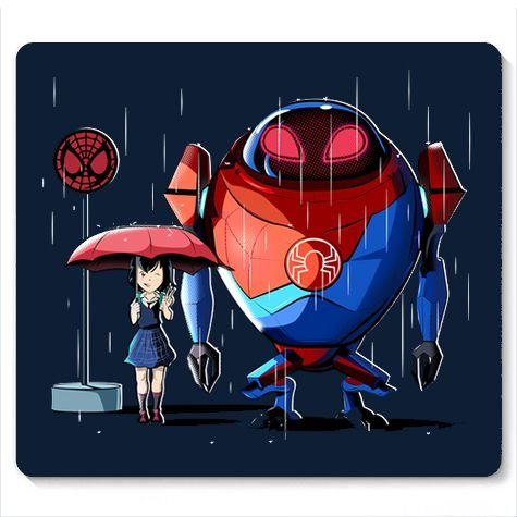 Mouse Pad My Spider Neighbor - Loja Nerd e Geek - Presentes Criativos