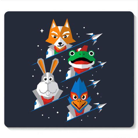Mouse Pad Corneria - Loja Nerd e Geek - Presentes Criativos