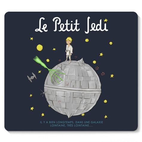Mouse Pad Space Wars La Petiti - Loja Nerd e Geek - Presentes Criativos