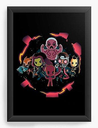 Quadro Decorativo A4 (33X24) Galaxi - Loja Nerd e Geek - Presentes Criativos