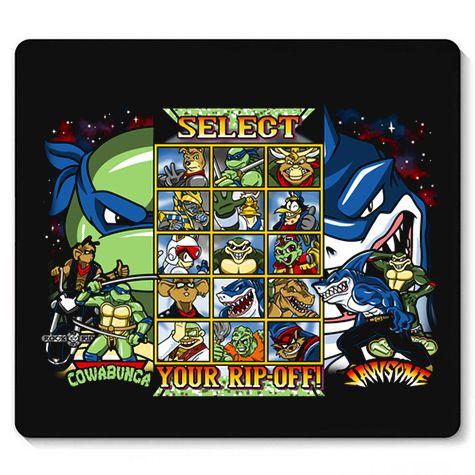 Mouse Pad Selecione o Ninja - Loja Nerd e Geek - Presentes Criativos