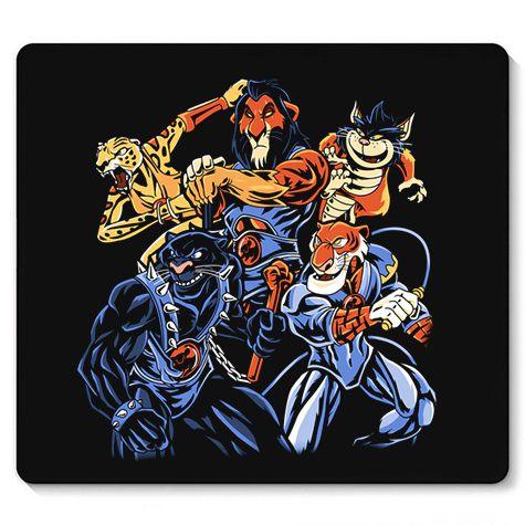 Mouse Pad Toonvengers Cats - Loja Nerd e Geek - Presentes Criativos