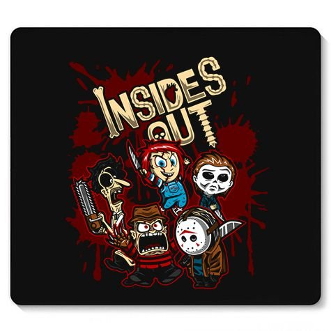 Mouse Pad Killers Insides - Loja Nerd e Geek - Presentes Criativos