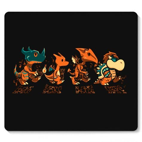Mouse Pad Dragon Evolution - Loja Nerd e Geek - Presentes Criativos