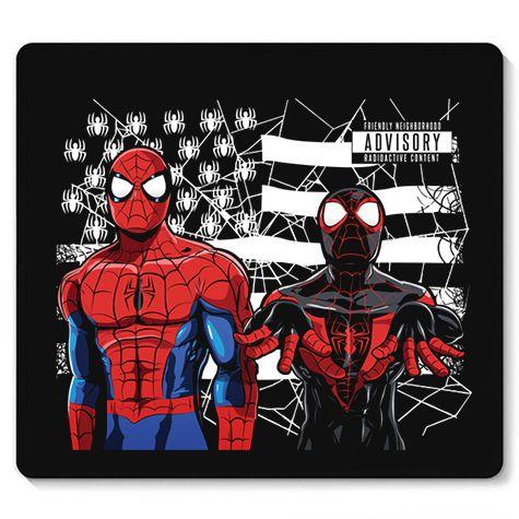 Mouse Pad Spider Brack - Loja Nerd e Geek - Presentes Criativos