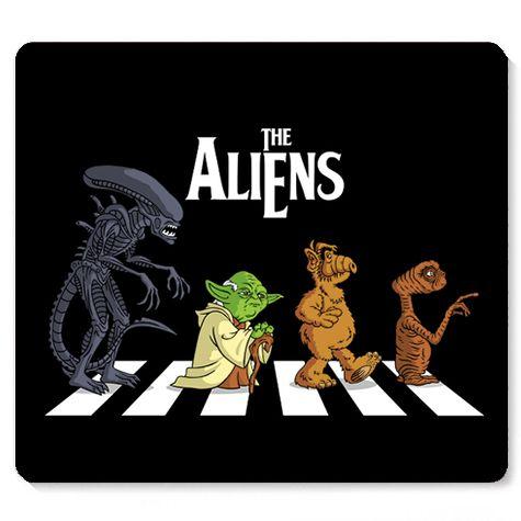 Mouse Pad The Aliens - Loja Nerd e Geek - Presentes Criativos