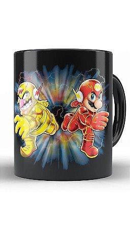 Caneca Flash Bros - Loja Nerd e Geek - Presentes Criativos