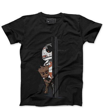 Camiseta Masculina Door - Loja Nerd e Geek - Presentes Criativos