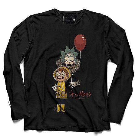 Camiseta Manga Longa It - Loja Nerd e Geek - Presentes Criativos