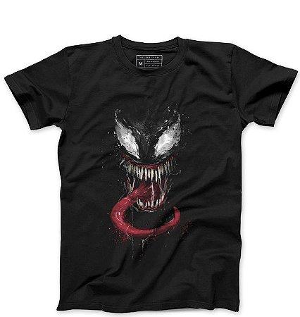 Camiseta Masculina Venom - Loja Nerd e Geek - Presentes Criativos