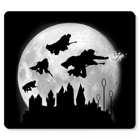 Mouse Pad O Bruxo HP - Loja Nerd e Geek - Presentes Criativos