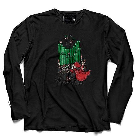 Camiseta Manga Longa Opera - Loja Nerd e Geek - Presentes Criativos