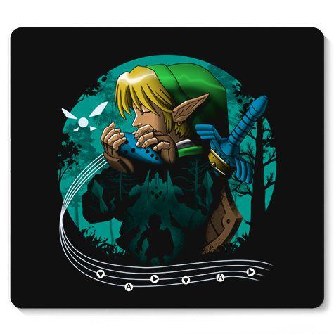 Mouse Pad Elf Music - Loja Nerd e Geek - Presentes Criativos