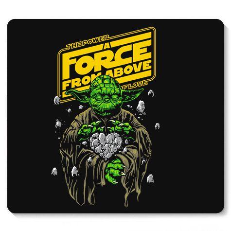 Mouse Pad The Force - Loja Nerd e Geek - Presentes Criativos