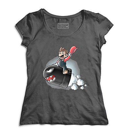 Camiseta Feminina Bomb - Loja Nerd e Geek - Presentes Criativos